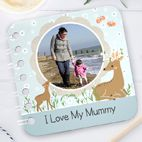 Personalised handmade baby board books