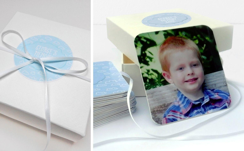 Personalised Memory Pairs Game handmade gift for children