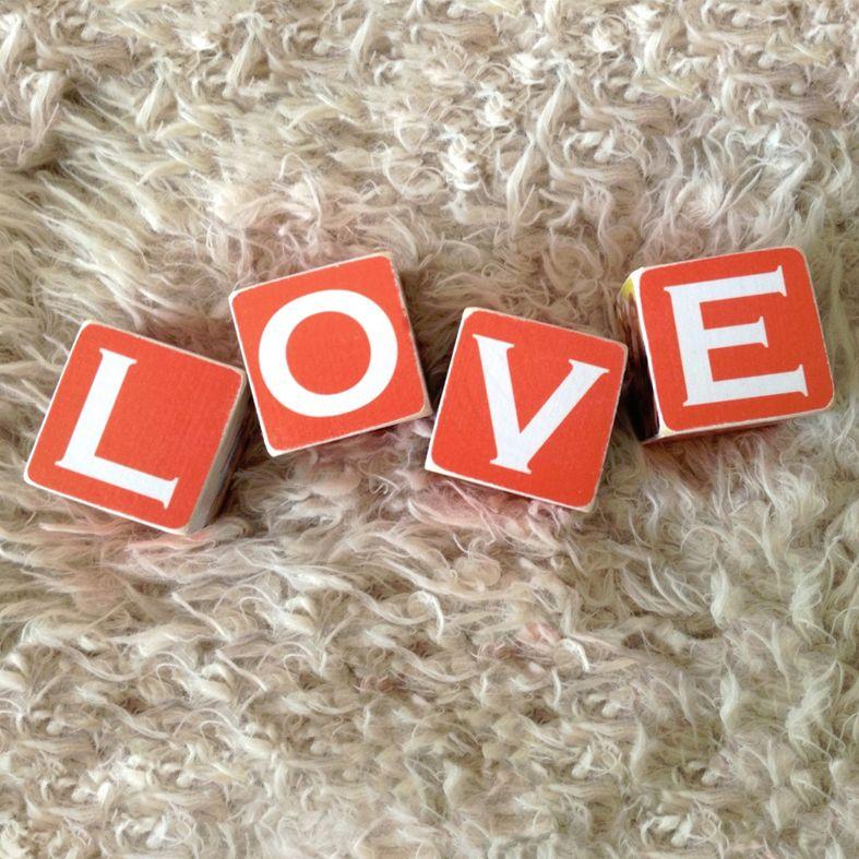 personalised handmade wooden photo blocks