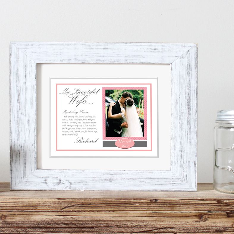 My Message to You personalised wedding print gift