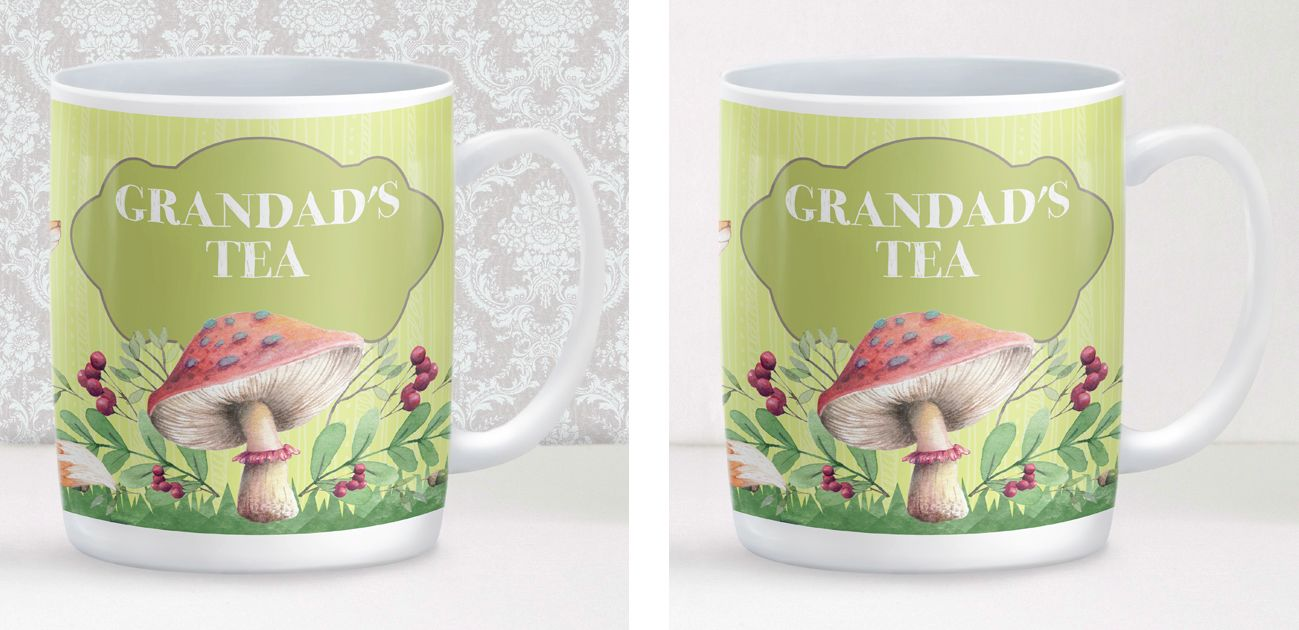 Garden personalised mug gift fathers day