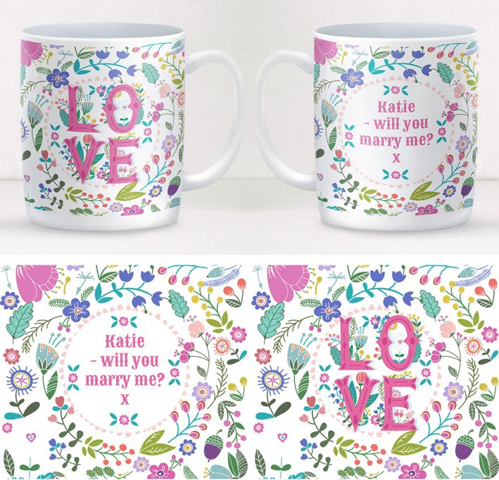 Summer of Love personalised mug