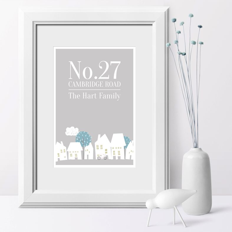 ... House-Number-New-Home-personalised-print-housewarming-gift-