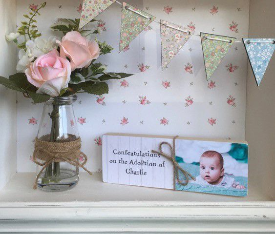 personalised adoption gifts