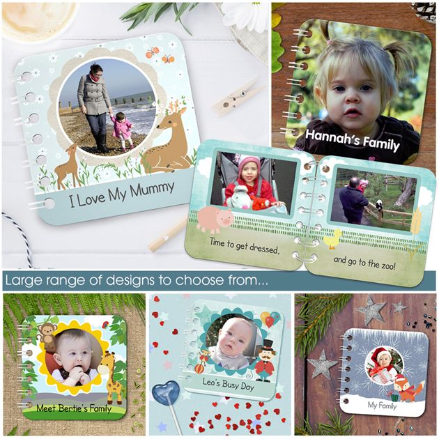 personalised baby board book adoption introduction book