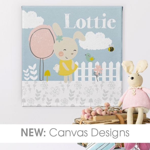 personalised canvas prints hand made