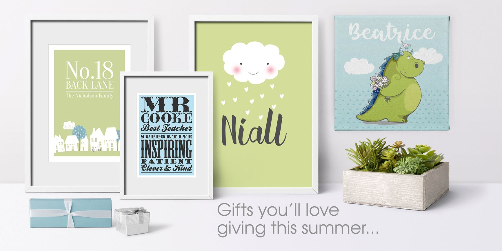 Unique unusual personalised handmade gifts