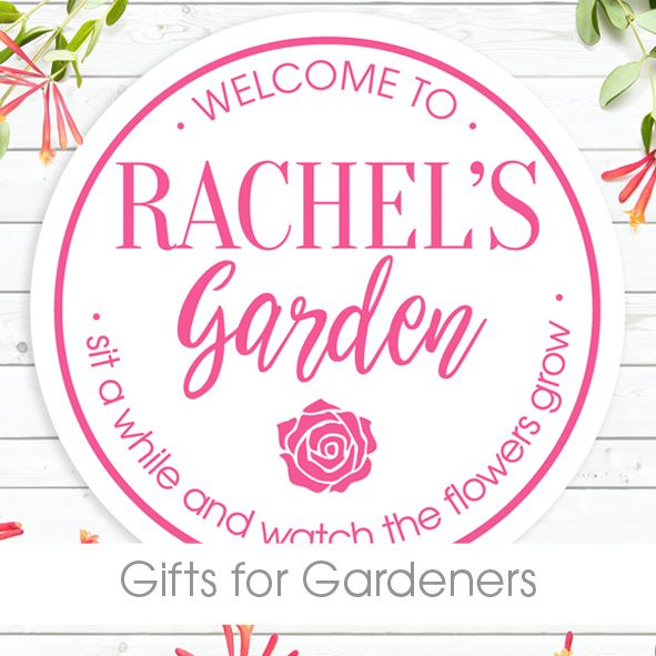 personalised gifts for gardeners unique unusual