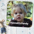 Personalised baby board books handmade from PhotoFairytales