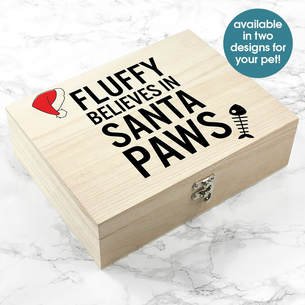 Personalised Christmas Eve Pet Box from PhotoFairytales