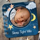 Sweet Dreams personalised baby bedtime board book | from PhotoFairytales