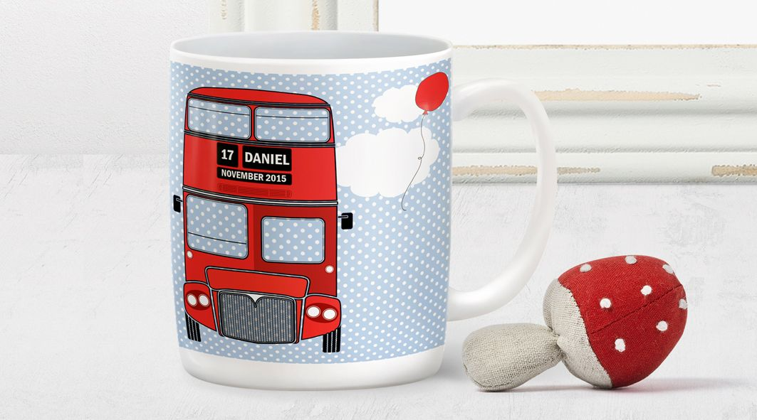London-Bus-personalised-mug-photofairytales-gift-child-toddler