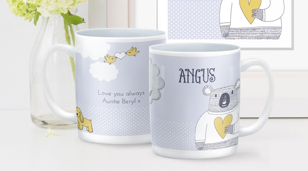 Love Bear personalised mug | PhotoFairytales