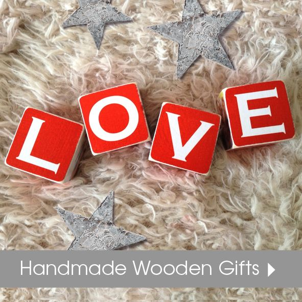 Handmade wooden Christmas gifts personalised | wooden plaques signs blocks | made in Britain | PhotoFairytales