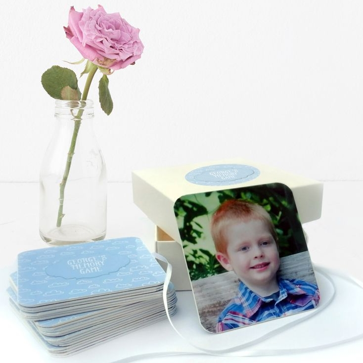 personalised handmade game for children memory game pairs card game