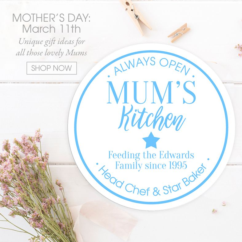 Personalised Mother's Day gifts | handmade personalised prints and gifts for mum | made in Britain | PhotoFairytales