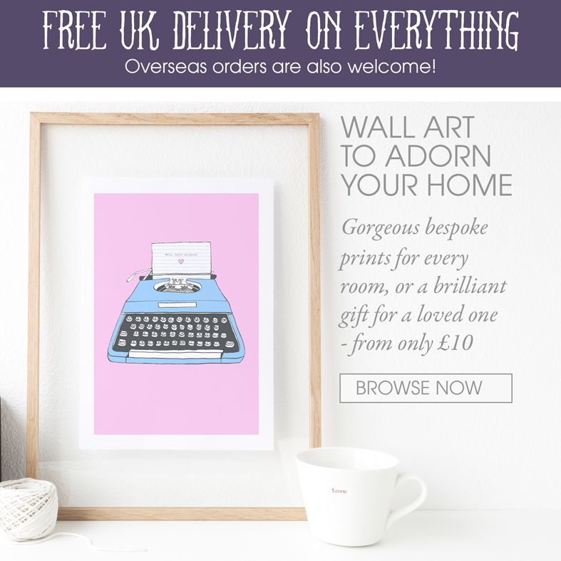 personalised prints bespoke wall art | personalised gifts | made in Britain | PhotoFairytales