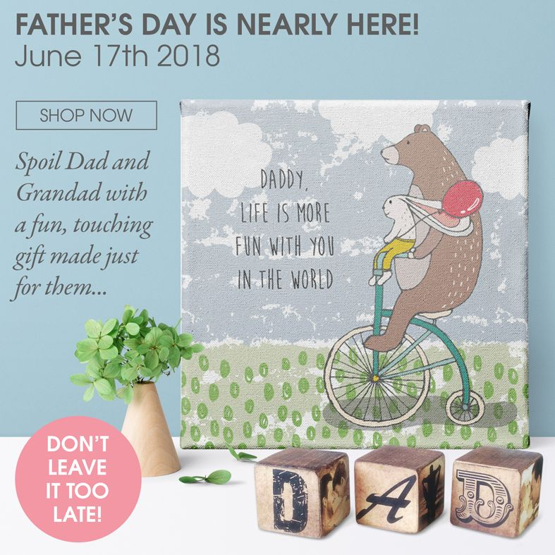 Personalised Father's Day gifts | handmade personalised prints and gifts | made in Britain | PhotoFairytales
