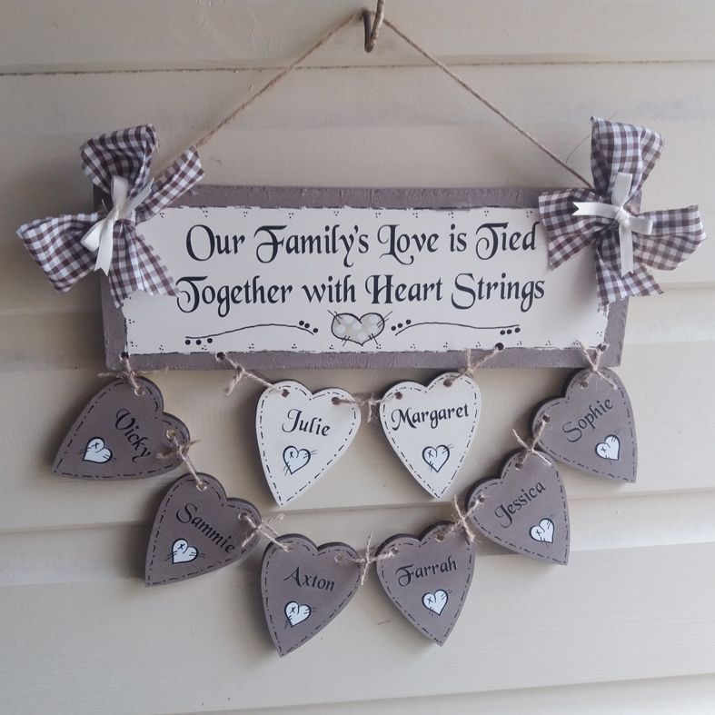 Personalised wooden plaque signs | handmade | hand painted | PhotoFairytales