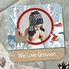 Personalised Christmas baby board book