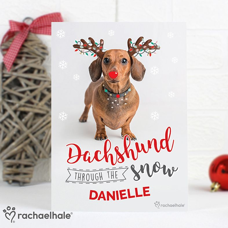 personalised Christmas greeting cards | personalised with your own words inside and out | custom cards from PhotoFairytales