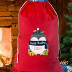 Personalised Santa Sacks Christmas sack