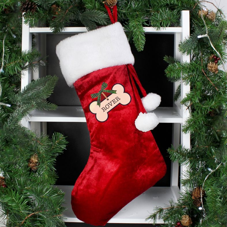 Personalised Dog Puppy Christmas Stocking | PhotoFairytales