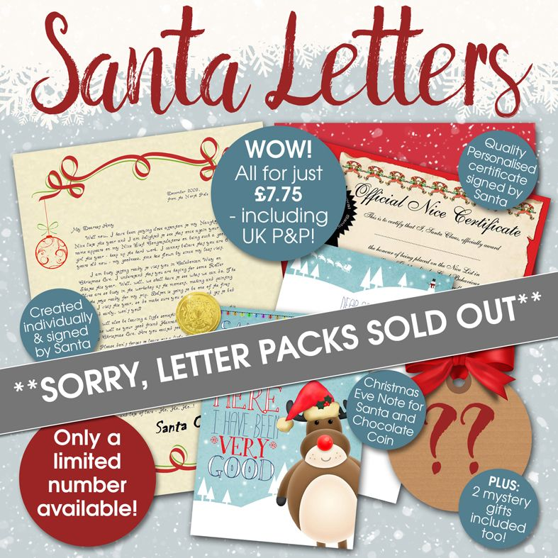 Personalised Santa Letters PhotoFairytales 2016
