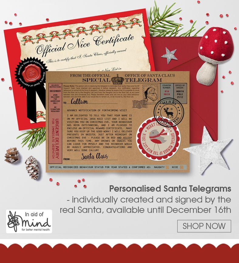 Personalised Santa Letters And Telegrams | PhotoFairytales