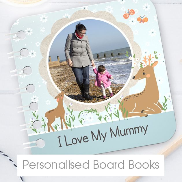 Personalised baby board books | bespoke customised books from PhotoFairytales