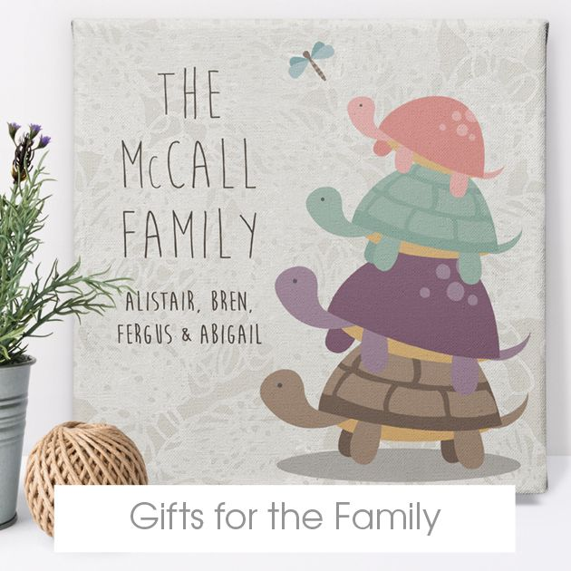 personalised gifts for families | family gift ideas bespoke customised from PhotoFairytales