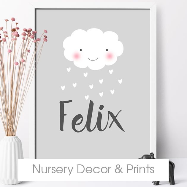 personalised nursery decor and wall art print from PhotoFairytales