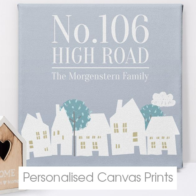 Personalised Canvas Prints | handmade gifts | personalised gifts for her him | PhotoFairytales