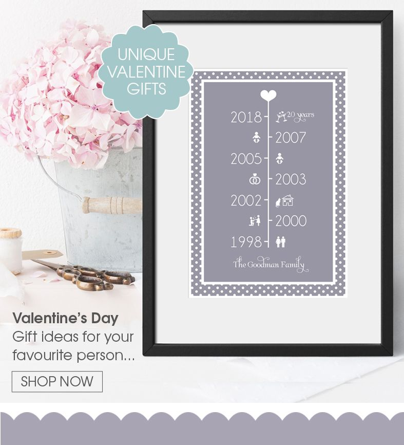 Personalised Valentine Day gifts | customised bespoke gifts from PhotoFairytales