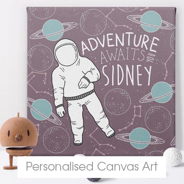Personalised canvas prints | custom canvas wall art | PhotoFairytales