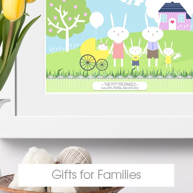 Personalised Gifts for families | bespoke customised gift ideas from PhotoFairytales