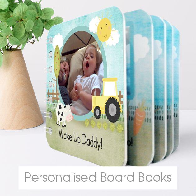 Personalised baby board books | bespoke customised books from PhotoFairytales