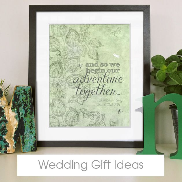 Personalised Wedding Gifts | handmade wedding gifts | bespoke customised wedding gift ideas from PhotoFairytales