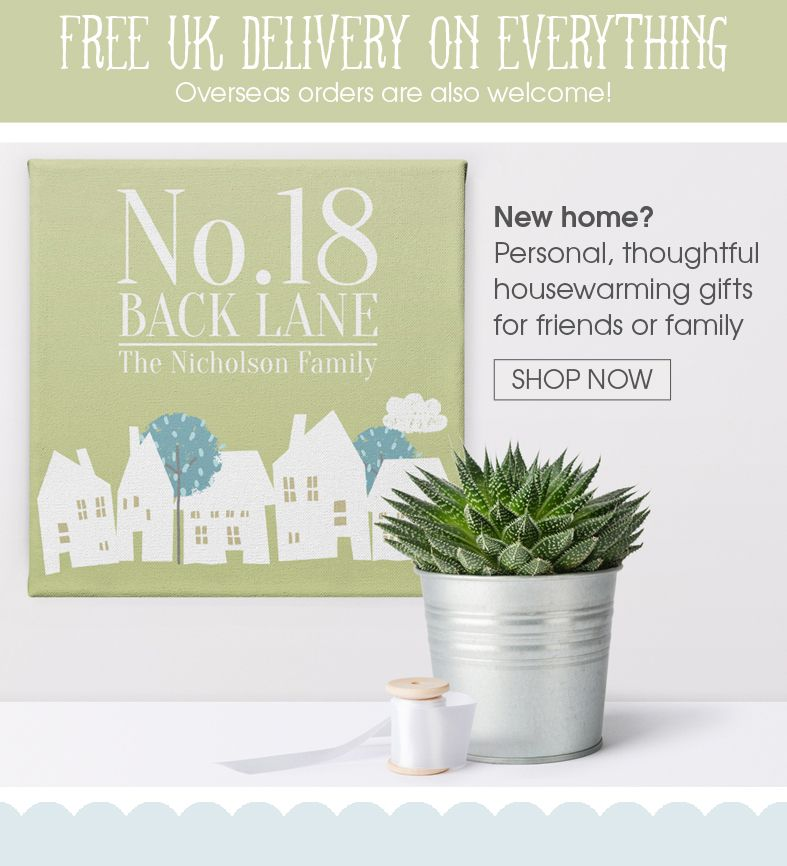 Personalised housewarming gifts | handmade new home gifts | personalised home decor from PhotoFairytales