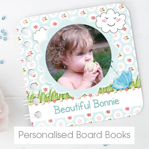 Personalised Baby Board Books | Bespoke Customised Baby Books from PhotoFairytales