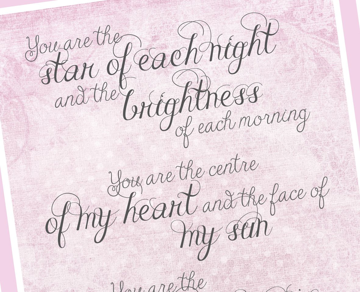 Personalised Star of Each Night print | romantic Wedding or Anniversary Gift from PhotoFairytales