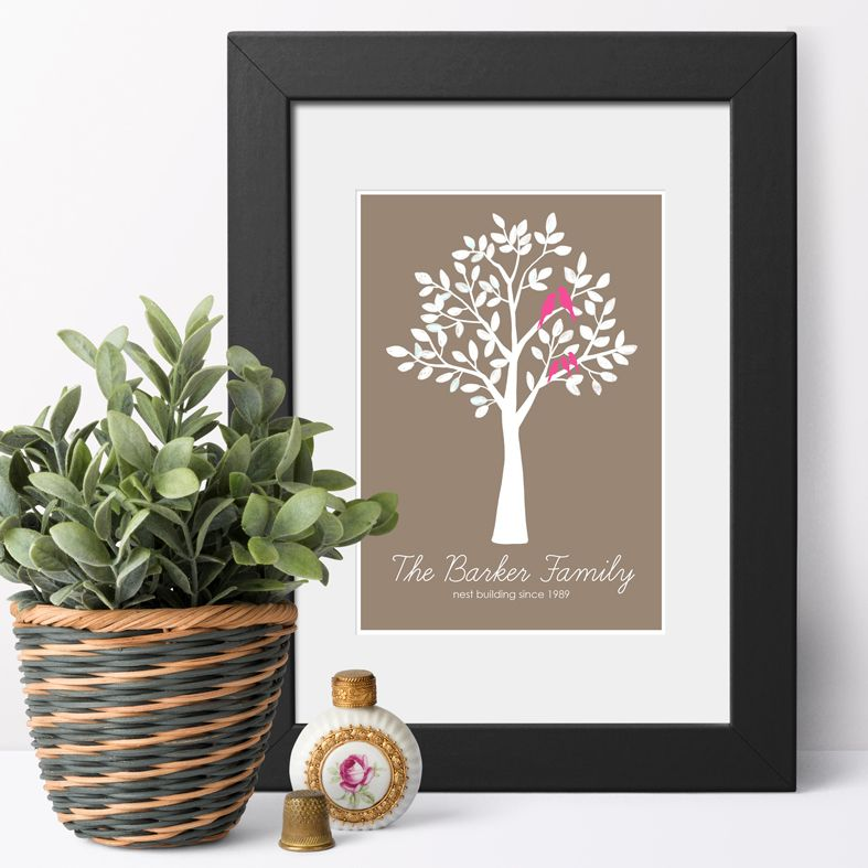 Personalised Family Prints | personalised family gift from PhotoFairytales