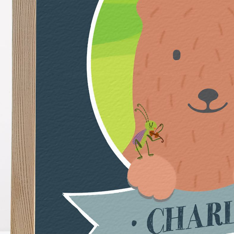 Personalised Wooden Picture Blocks   handmade freestanding, beautiful illustrations, contemporary designs - from PhotoFairytales