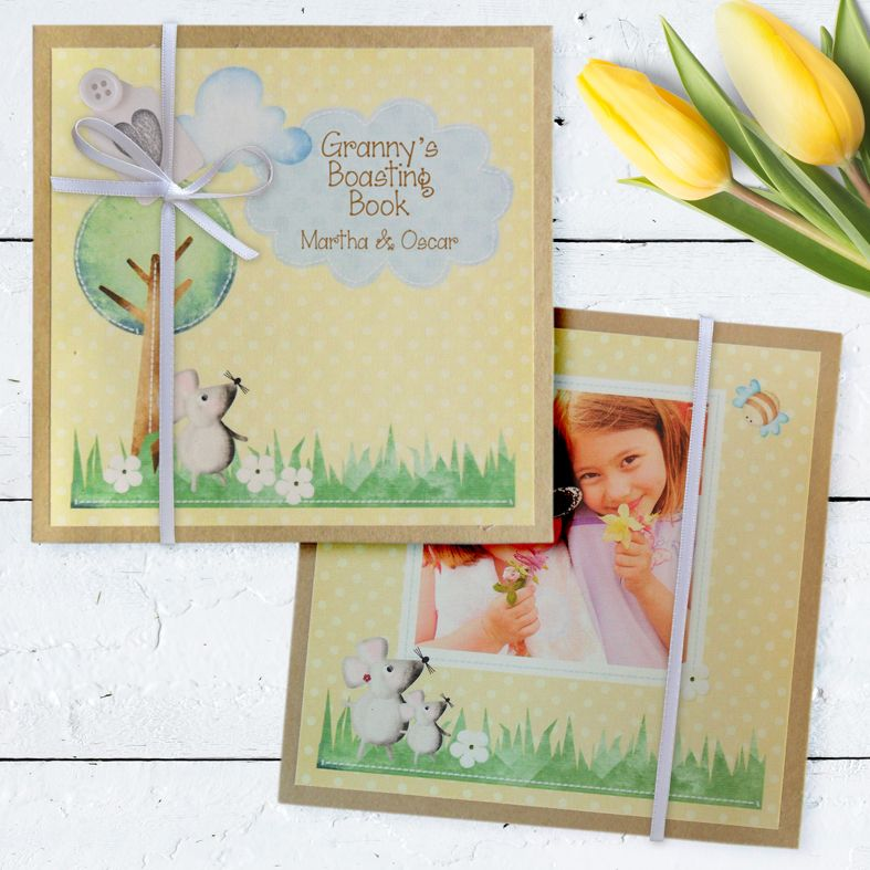 Personalised Pocket Sized Photo Albums | handmade personalised missing you gifts from PhotoFairytales