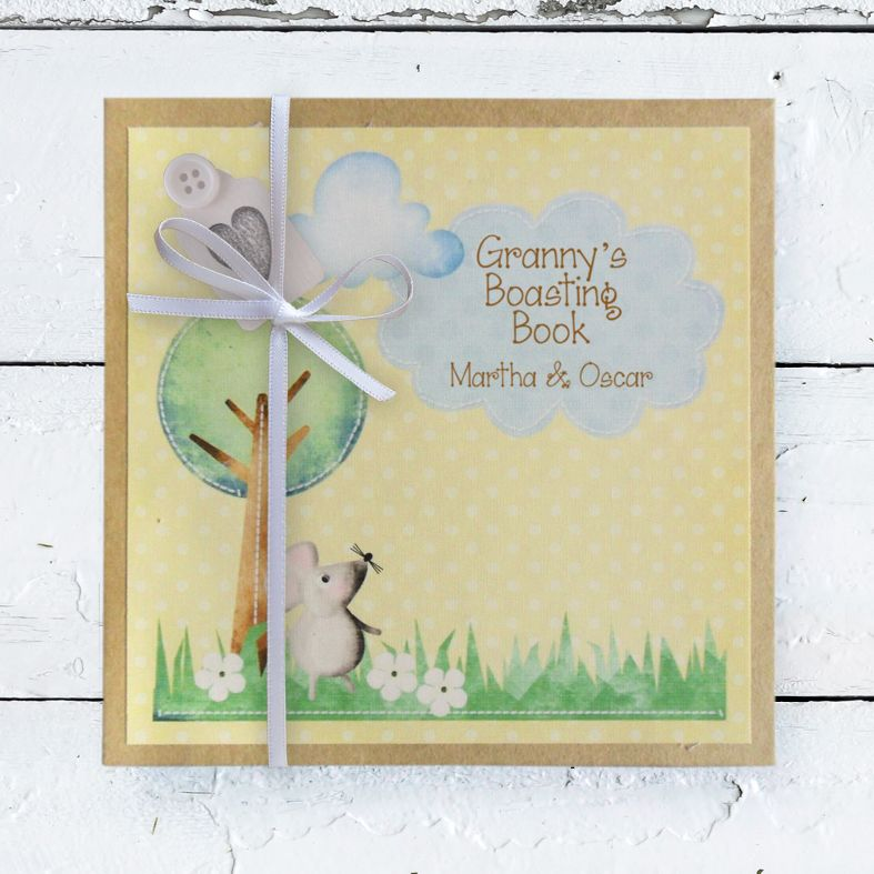 Personalised Mother's Day Gifts, free UK delivery - Personalised Photo Albums | handmade pocket sized keepsake photo album from PhotoFairytales