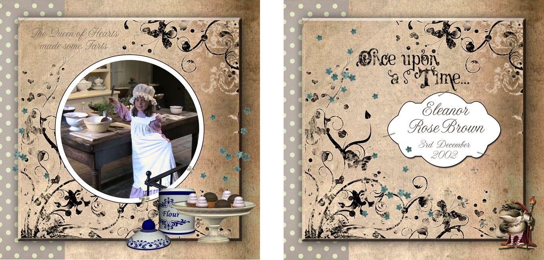 Personalised Photo Albums   Storybook design, handmade pocket sized keepsake photo album from PhotoFairytales