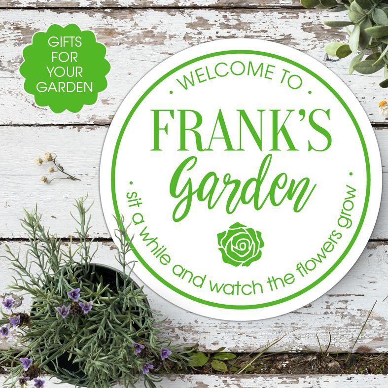 Personalised gifts for gardener | personalised garden gift ideas from PhotoFairytales