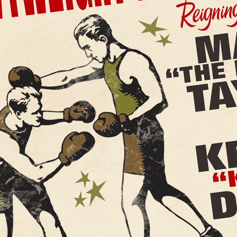 Live Boxing Championship | personalised gift for boxers and boxing fans, a fun gift for him, ideal for a birthday or Father's Day, from PhotoFairytales #boxinggift #giftforboxers #pugilist #sportgift