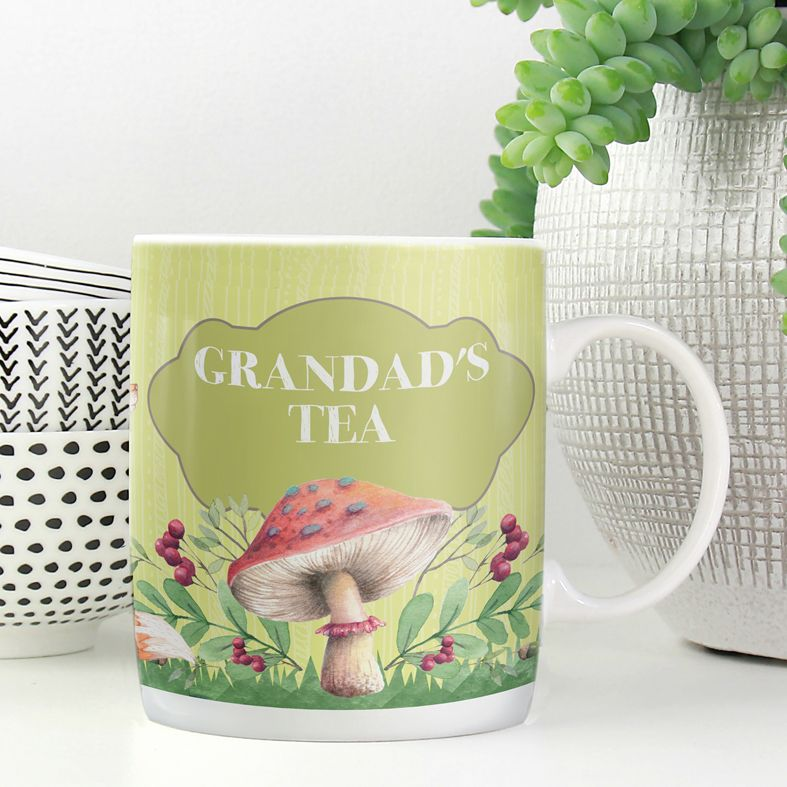 Garden personalised mug gift  | beautifully illustrated and customised mug, created to order, from PhotoFairytales #personalisedmug