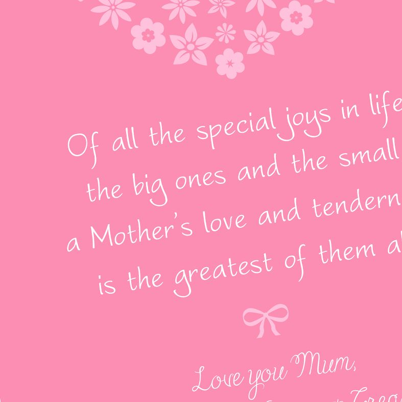 Mother's Day Personalised Prints | thoughtful and sweet, these custom personalised prints will make your Mum's day! Perfect for a birthday or Mother's Day, from PhotoFairytales #mothersdaygift #giftformum #mumgift